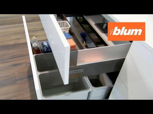 Изделия фирмы Blum с электрической системой SERVO DRIVE