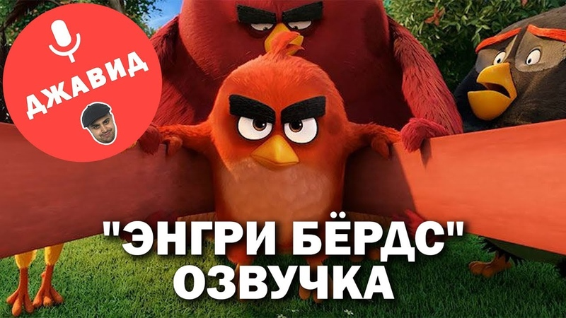 ЭНГРИ БЁРДС ОЗВУЧКА   ОЗВУЧКА ОТ ДЖАВИДА