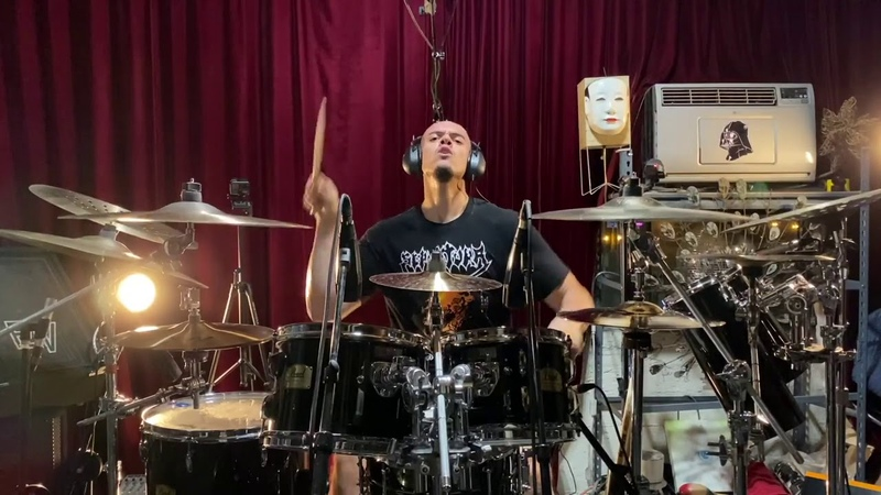 WARBRINGER Crushed Beneath The Tracks Drum Playthrough Napalm Records