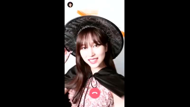 Mina TWICE_GOGOFightin Halloween Video