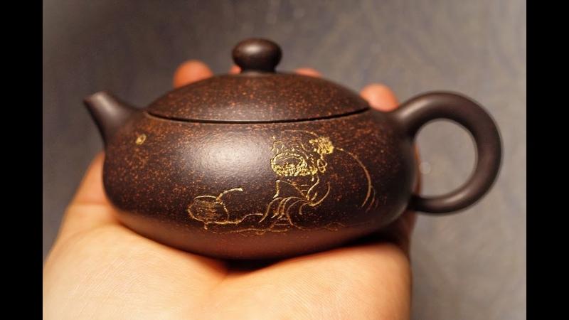 Мой исинский чайник авторской работы Бодхидхарма