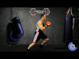 Cardio KICKBOXING Workout Using A Heavy Bag - Coach Ali (1)