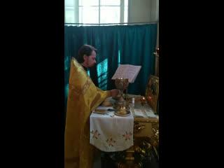 Воскресная Божественная литургия. Проскомидия.