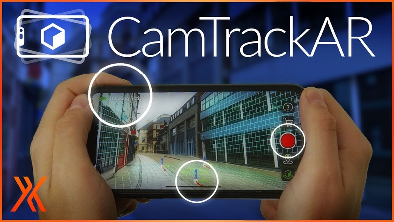 NEW CamTrackAR FREE 3D tracking video capture for iOS