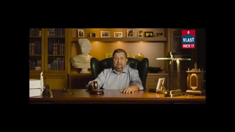 Štefan Harabin strana Vlasť č 17 predvolebné reklamné videa spolu