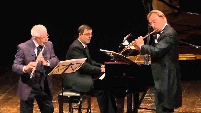 Andrea Griminelli e Sir James Galway Andante e Rondò per due Flauti e Piano Op 25 di Doppler