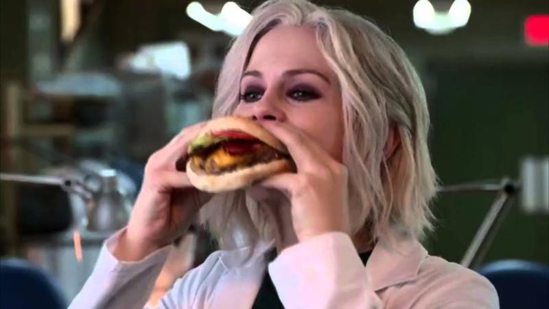 Olivia Liv Moore eat brainsОливия Лив Мур ест мозги || Cant Stand It || (Я зомбиiZombie)