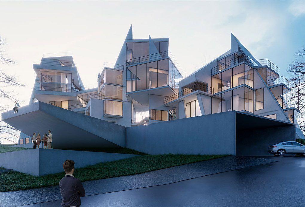 Alanya vertical villa by madoarchitects