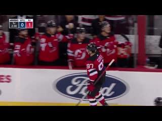 Никита Гусев первая шайба в официальных матчах НХЛ