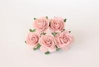 Midi розы 2,5 см - розовоперсиковые светлые  1 шт - 13 руб  Диаметр 2,5-3 см высота 1,5 см длина стебля 6 см