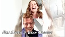 Rebecca Mader and Sean Maguire doing livestream on IG