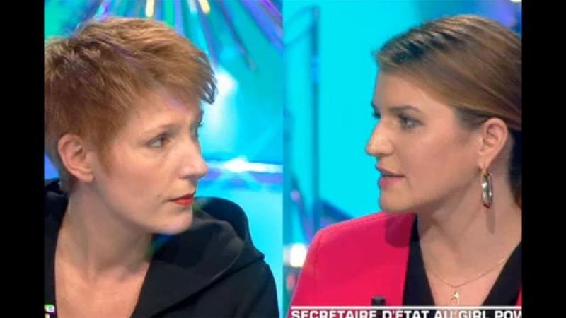 MARLÈNE SCHIAPPA vs Natacha Polony(privatisation= braderie des bijoux de famille)