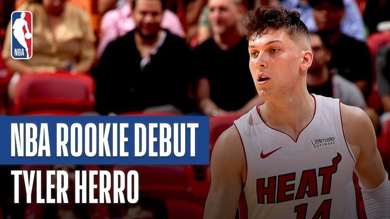 Tyler Herro Shines In Preseason Debut 2019 NBA Preseason