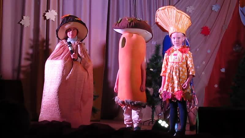 Дефиле костюмов 20.09.2019 г. в рамках 2-ого фестиваля Белого гриба