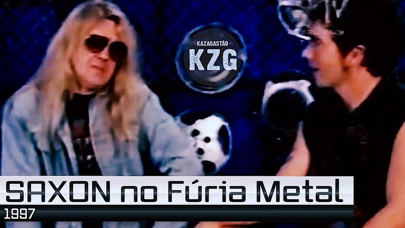 SAXON no Fúria Metal (1997) - Arquivo KZG