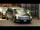 Wpadka ochrony Obamy , Obama's car gets stuck at US Embassy