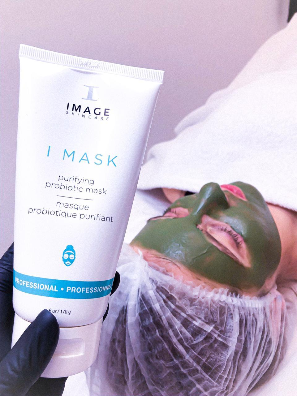 Очищающая маска с пробиотиками I MASK purifying probiotic mask