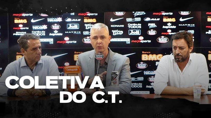 """TIAGO NUNES """"SER TREINADOR DO CORINTHIANS É MOTIVO DE ORGULHO"""""""