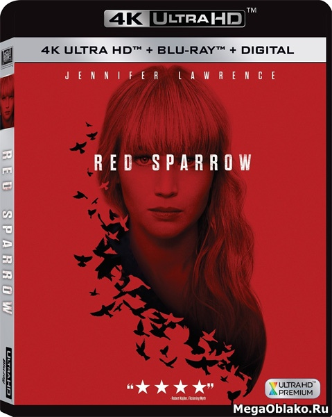 Красный воробей / Red Sparrow (2018) | UltraHD 4K 2160p