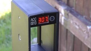 PCP KRAL AUTO к.5.5 - Измерение скорости пули JSB 1,03 г