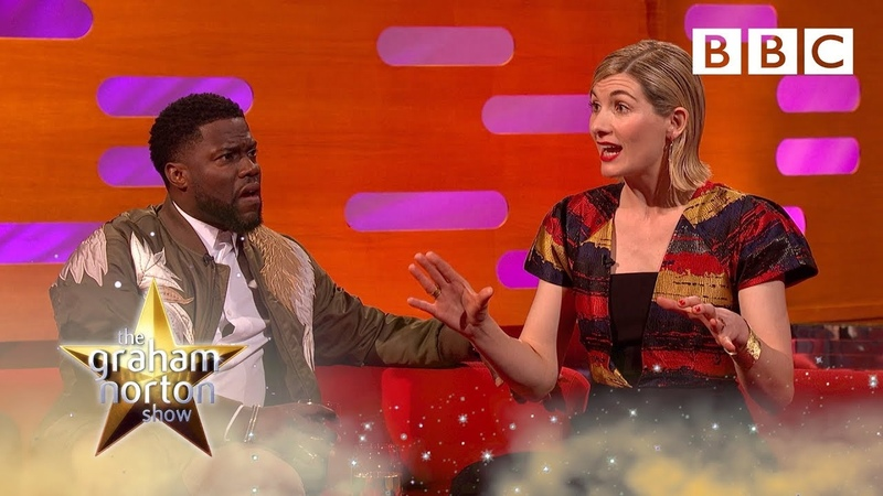Jodie Whittaker was nearly killed by a VENOMOUS spider filming Doctor Who | Graham Norton Show - BBC