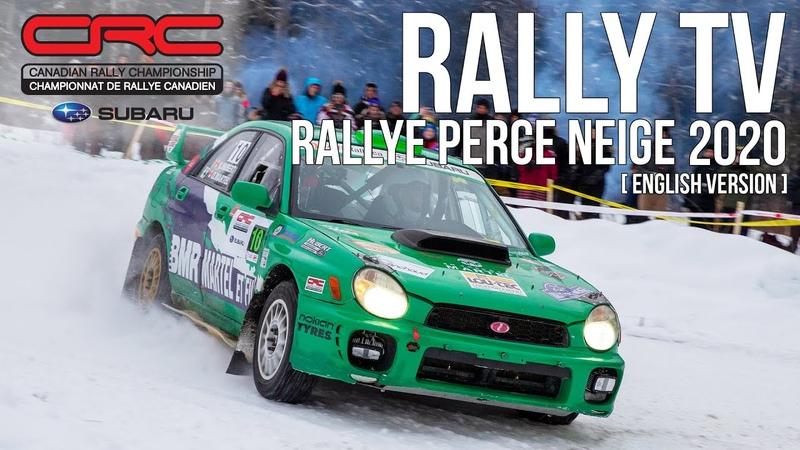 CRC TV: Rallye Perce Neige 2020 - IN ENGLISH