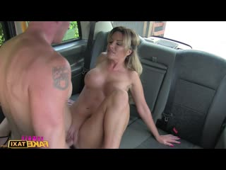 FemaleFakeTaxi - Elicia Solis - May 05, 2016 - Blonde Cab Driver Loves Cock