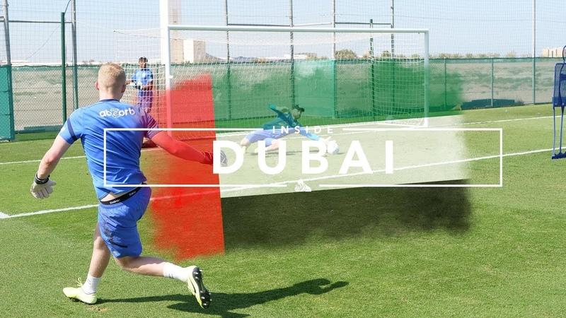 🧤 MIC'D UP GOALKEEPER SESSION! INSIDE DUBAI | Day five