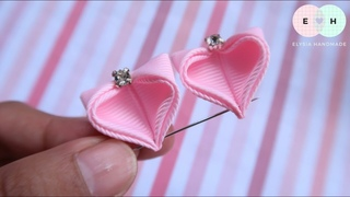 Amazing Kanzashi Flower - Hand Embroidery Works - Ribbon Tricks & Easy Making Tutorial #28