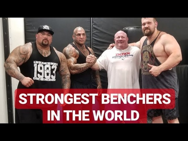 STRONGEST BENCHERS IN THE WORLD | KIRILL SARYCHEV AND SCOT MENDELSON