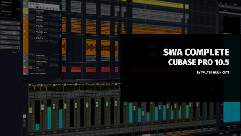 SWA Complete Cubase Pro 10 5 Video Tutorial
