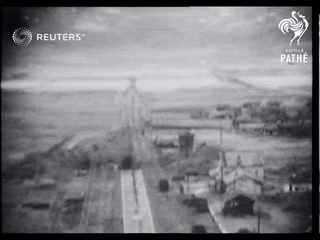 KOREA: U.S. planes attack targets in North Korea (1950)