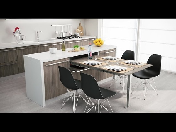 Atim TAble XL - pull-out table from a drawer | tavolo estraibile dal cassetto