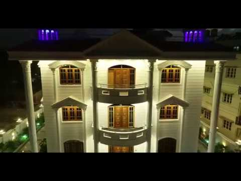 The Royal Mysore bungalow by Panchamishree Constructions