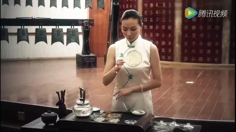 Китайский чай Заваривание 毛尖茶 зеленый чай маоцзянь