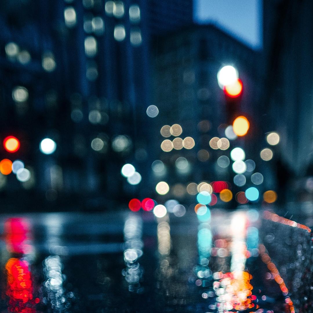 Дождик вылился в город