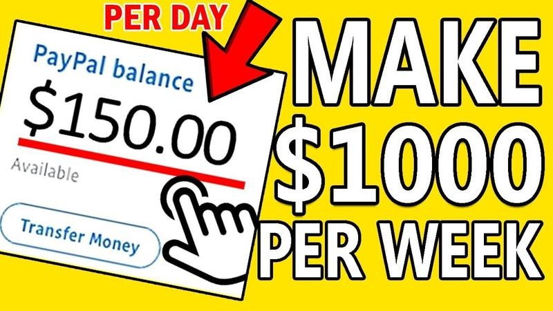 Make Money Online Earn $1 000 PER WEEK RECURRING