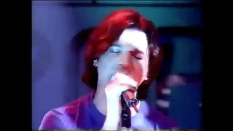 Depeche Mode Top Of The Pops BBC Barrel Of A Gun feat Anton Corbijn on drums and Tim Simenon on keybord 31 01 1997