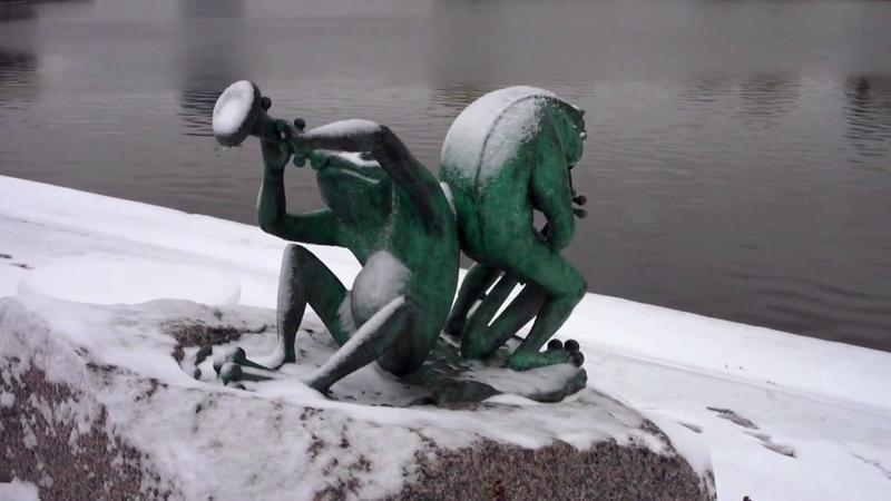 Осень первый снег площадь Революции ул Кирова набережная Органный зал