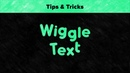 After Effects Tips Tricks Wiggle Text
