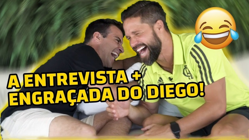 A ENTREVISTA MAIS ENGRAÇADA DO DIEGO RIBAS NA HISTÓRIA! l SÓ RESENHAS PESADAS DE BASTIDORES