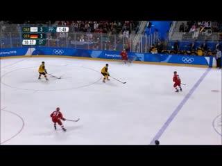 Финал  Олимпиады 2018 хоккей . Россия-Германия
