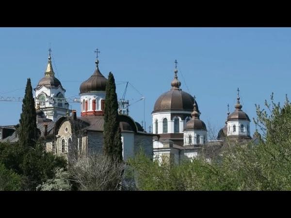 Афон Андреевский скит Херувимская песнь Паломничество казака Георгия Athos St Andrews Monastery