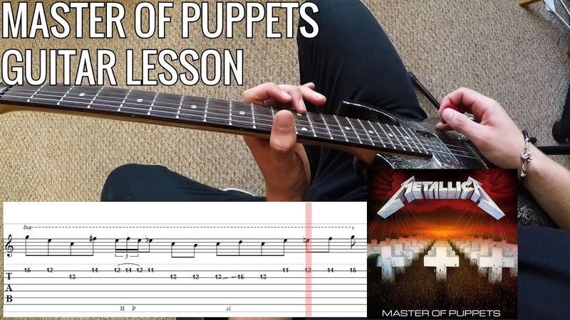 Guitar Lesson Metallica - Master Of Puppets   PoVTab