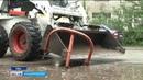В Уфе демонтируют незаконные парковки