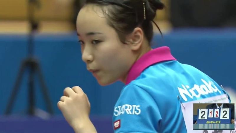 伊藤美誠vs加藤美優|世界卓球2018 日本代表最終選考会 女子準決勝