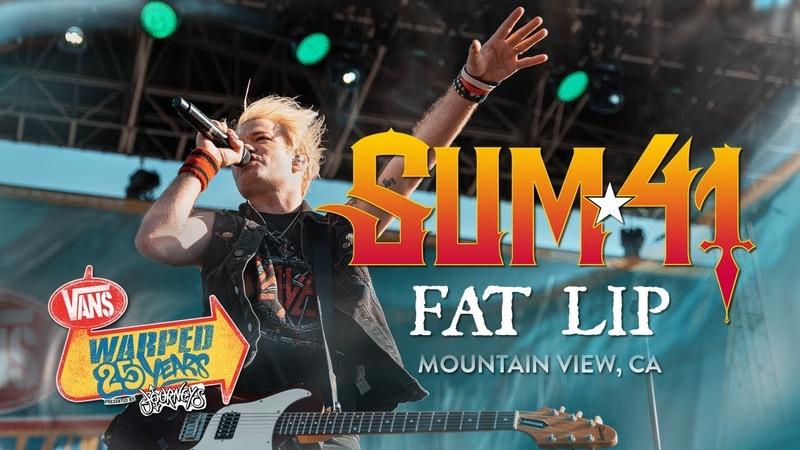 Sum 41 Fat Lip LIVE Vans Warped Tour 25th Anniversary Show