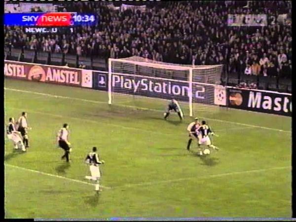 Feyenoord 2-3 Newcastle Utd. CL 2002-03