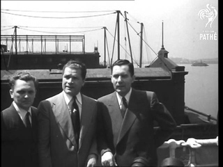 Gromyko Leaving New York (1948)