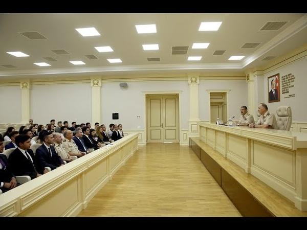 Müdafiə naziri Gənc Liderlər Proqramının iştirakçıları ilə görüşüb - 08.07.2019